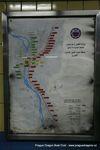 metro Kahira - tři linky jako v Praze